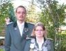 Königspaar Daniela und Volker Rütten
