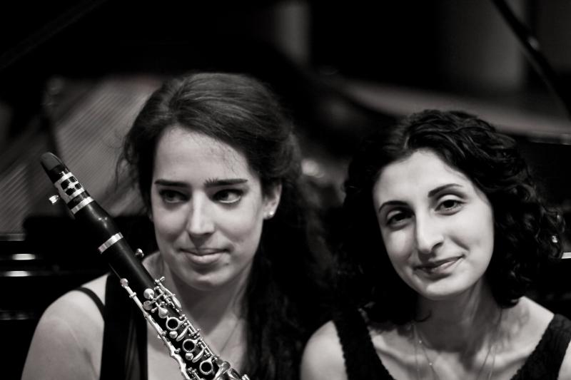 Duo Miroir: Lina Neulot und Mane Davtyan