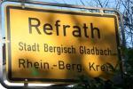 Refrath Ortsschild