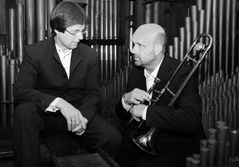 Elmar Lehnen und Hansjörg Fink  (Photo von Dr. Jochen Post)