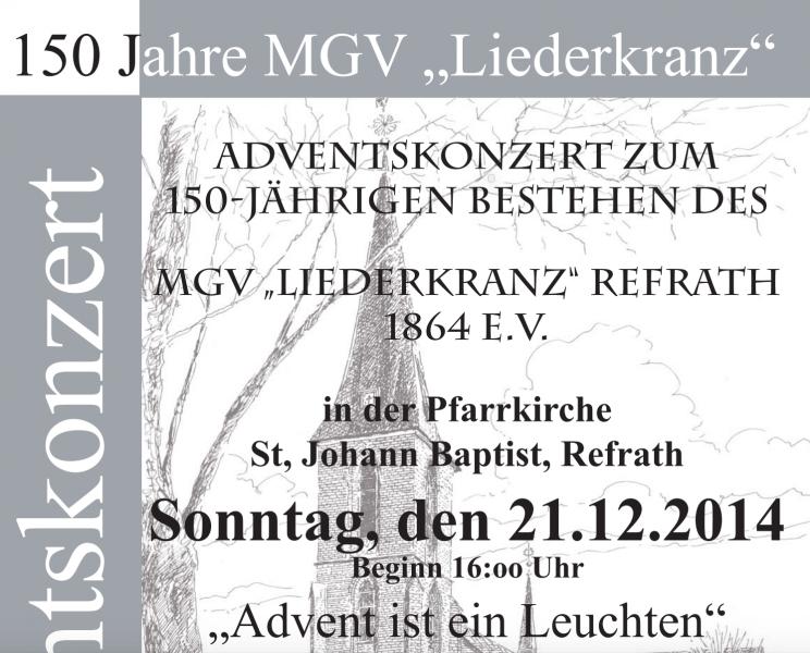 Adventskonzert MGV Liederkranz