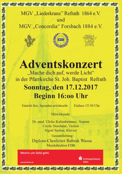 MGV_Liederkranz_Weihnachten_2017