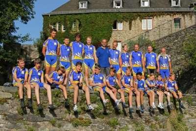 Jugendetappenfahrt 2012 Staubwolke Refrath