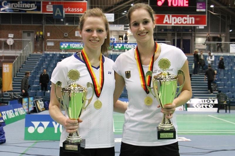 Isabel Herrtrich und Carla Nelte