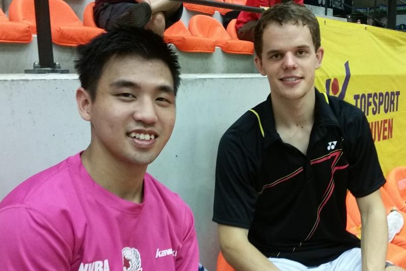 Giap Chin Goh und Fabian Roth (Foto Heinz Kelzenberg