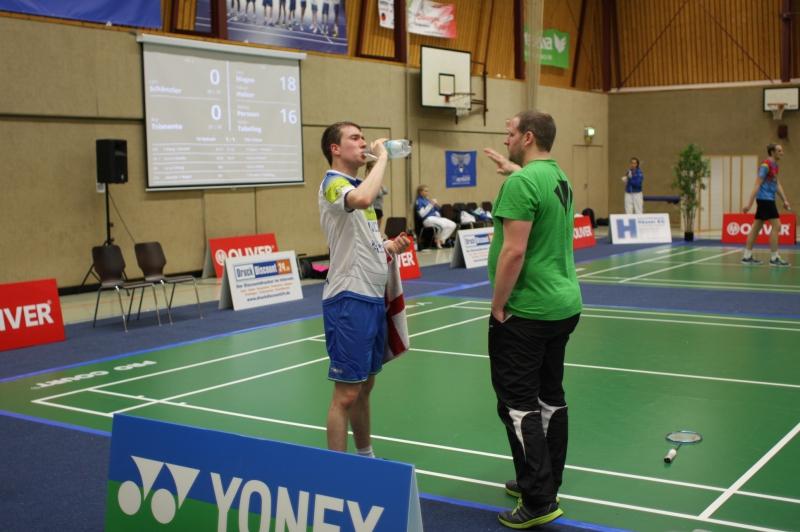 Lars Schänzler und Coach Daniel Winkelmann