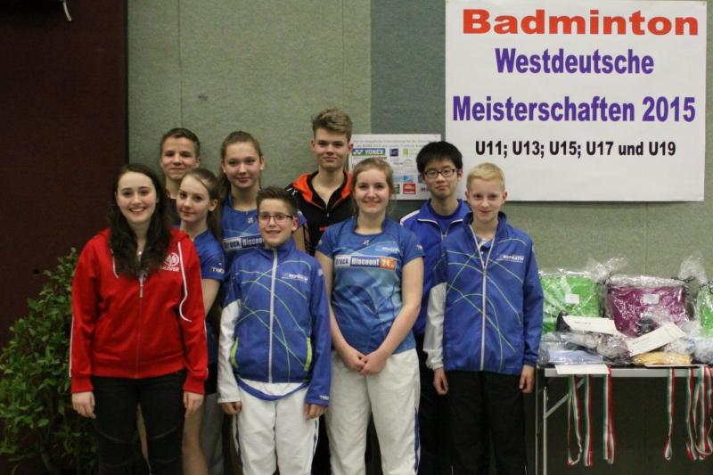 Westdeutsche Meisterschaften Medailiengewinner des TV Refraths