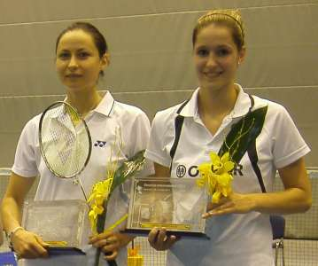 Carla Nelte und Johanna Goliszewski