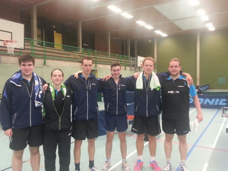 TVR Tischtennis Mannschaft 2014