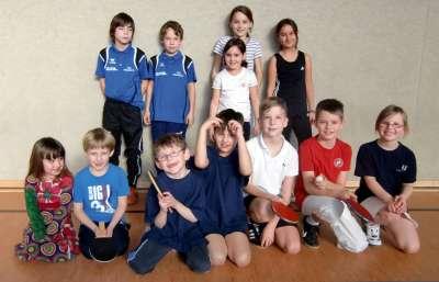 Sieger Tischtennis MiniCup 2012