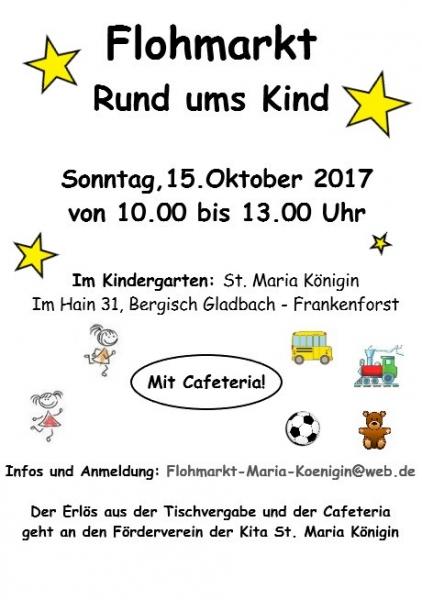 Herbstflohmarkt Plakat 2017