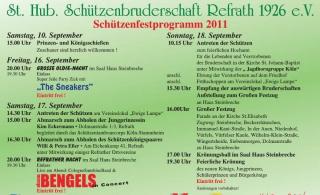 Refrather Schützenfest 2011