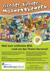 Kindermalwettbewerb des Refrather Dreigestirns 2012