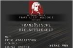 Franz Liszt Akademie Plakat vom 17.12.2011
