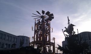 Weihnachtspyramide 2010